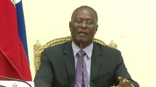 VIDEO: Haiti - President Privert - Message a la Nation, 15 Juin 2016