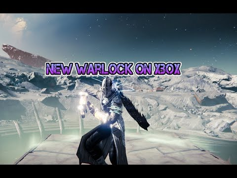 Leveling Up My Warlock on Xbox One Destiny Character
