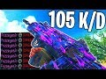 NO RECOIL SPITFIRE 105 K D GAMEPLAY COD BO4 mp3