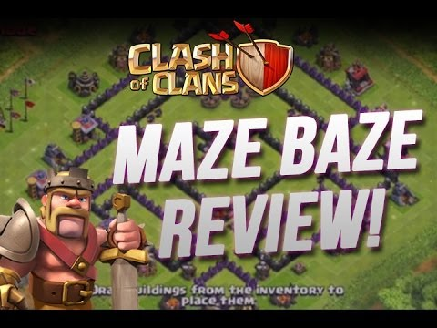 Clash of Clans :: Maze Baze Review - It's Beast
