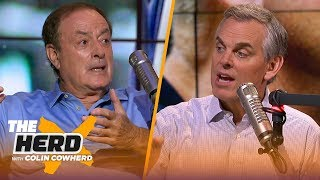 Al Michaels tells stories from broadcasting, his favorite SB calls, Miracle on Ice & more | THE HERD