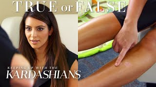 Kim Kardashian Uses Breast Milk On Her Psoriasis? | So True / So False | KUWTK | E!