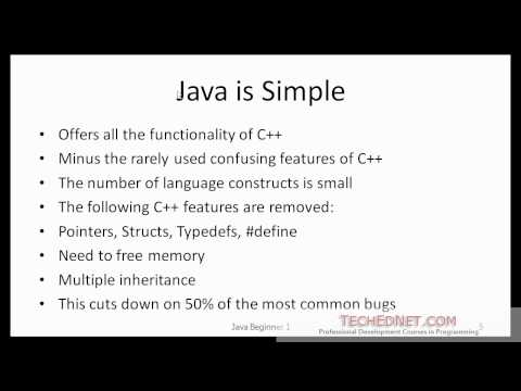 Java Beginner 1- What is Java?