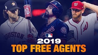 Top 20 MLB Free Agents for 2019/2020 Hot Stove season