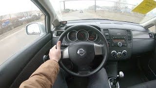 2011 Nissan Tiida POV Test Drive