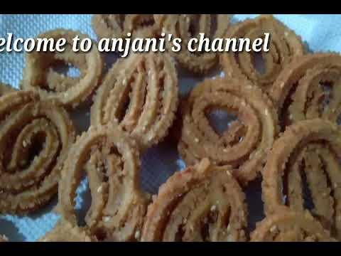 Murukulu in Kerala style#anjani's channel#telugu