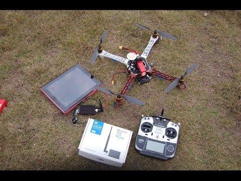 DJI iPad Ground Control Station for Naza V2