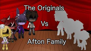 |The Originals Vs Afton Family| [Singing Battle] {GL}