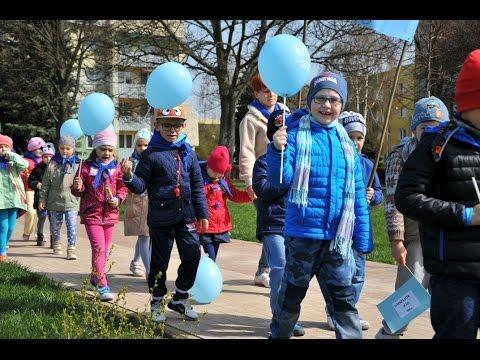 Dziecięcy marsz w Łęcznej