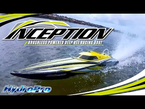 HydroPro Inception Racing Boat - HobbyKing Product Video