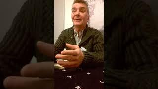 Jacques  Halbronn  avec le voyant marseillais Franck Lecoeur. L'horizon politique