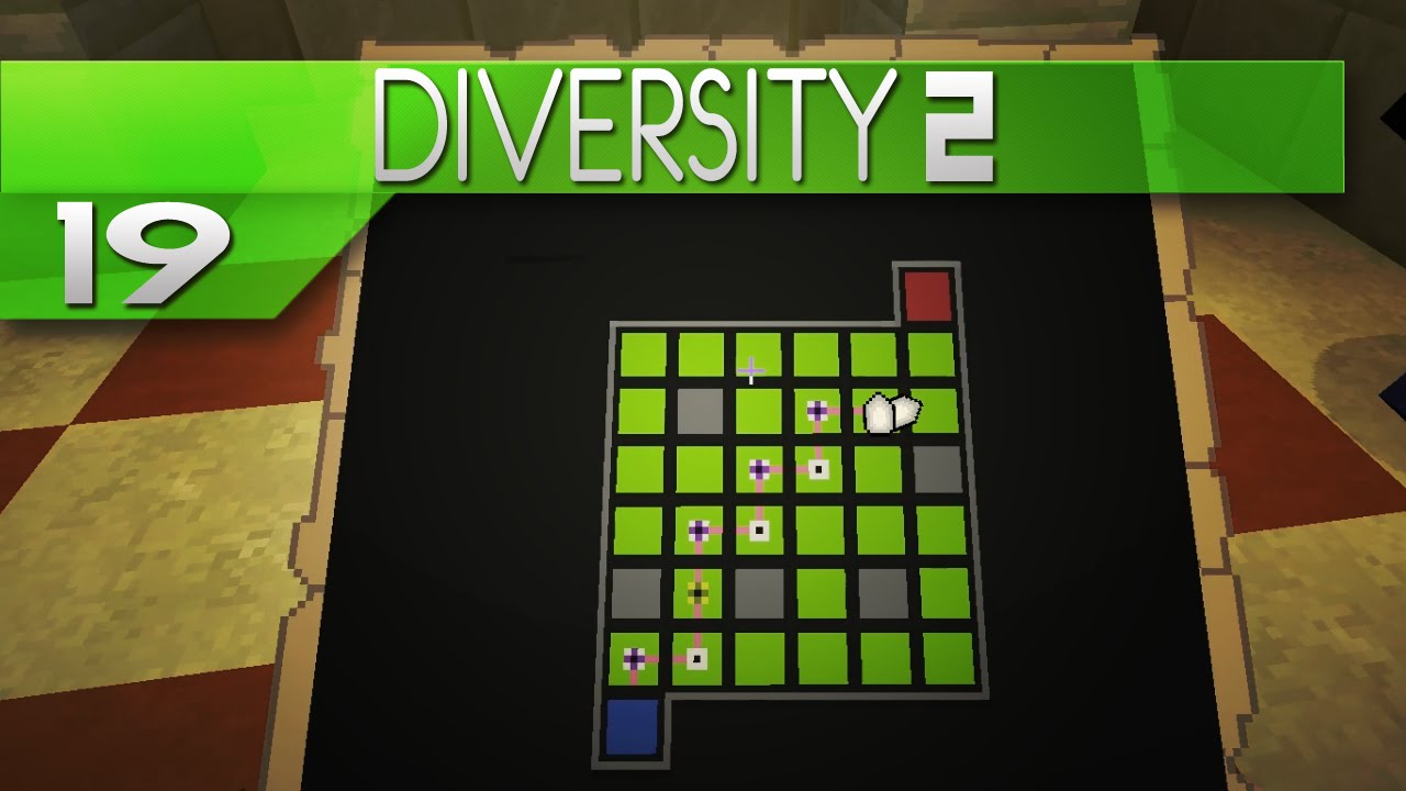 Minecraft diversity 2 episode 19 puzzles suck youtube for Farcical episode crossword