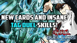 Yu-Gi-Oh! Duel Links | NEW CARDS & INSANE TAG DUEL SKILLS! Return of the Dragon Lords in Duel Links?
