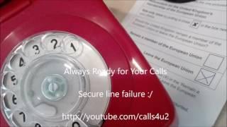 Secure line language barrier fail