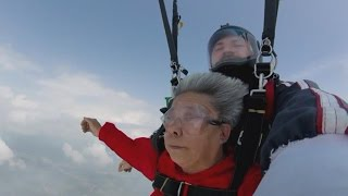 Grandma Skydives With Granddaughter, Plans More Action-Packed Trips