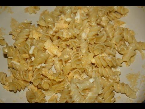 Как приготовить макароны с сыром - видео