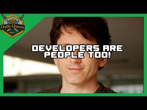 Video Game Developers Are People Too