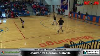 BASKBETBALL - Gordon Rushville vs Chadron - ENTIRE MATCH and COMMENTARY - FREAM Sports