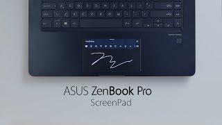 ScreenPad - Applications de saisie manuelle | ZenBook Pro 14 & 15