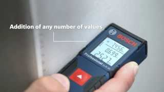 Bosch Blue Professional - GLM 30 Laser Rangfinder up to 30 meters. One button operation