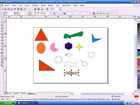 Corelmania: Video-aulas Suite Corel (Draw x Photopaint) - Aula 07