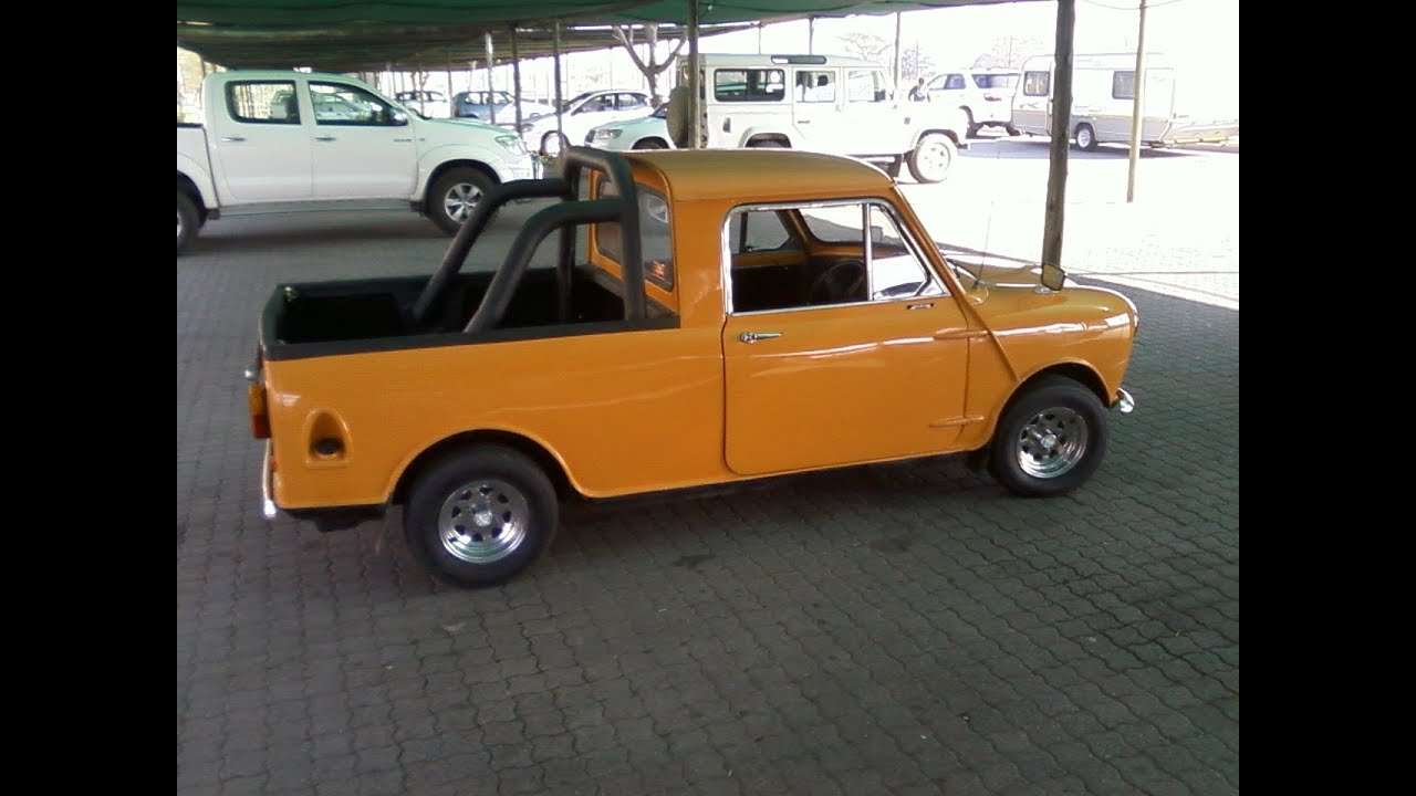 Mini Vanpickuputebakkie Turbo YouTube