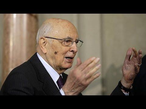 Das Ende einer Ära: Italiens Präsident Napolitano ist müde