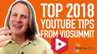 Top 2018 YouTube Tips for Professional Coaches [and more from VidSummit]