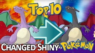 Another Top 10 Generation 1 Pokemon That Changed Their Shiny Coloration Over Time!