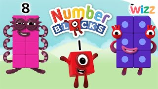 Numberblocks -  Learn to Count | Numeracy Games