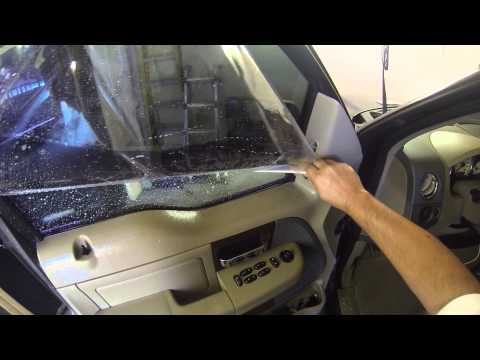 Window tinting any side window how to video step by step using go pro 3 black #eclipsetinting