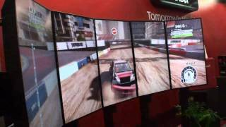 AMD's Eyefinity six screen uber setup at Computex rocks