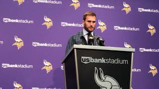 10/13/19: Kirk Cousins says he didn't hear criticism from Eagles LB Zach Brown