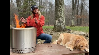 #634 You've never seen a FIRE PIT like this Before! Solo Stove Bonfire, Pretty Amazing!