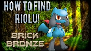 Roblox: Pokemon Brick Bronze - HOW TO FIND RIOLU + MANAPHY EGG HATCH!
