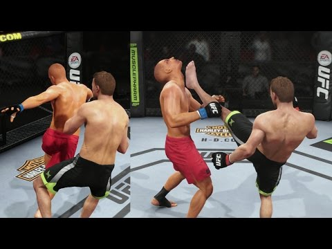 EA Sports UFC Career Mode - 1st Sponsor & Tae Kwon Do