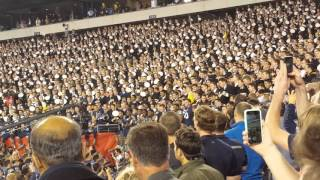 Army - Navy Football 2015 - Singing Navy Blue and Gold