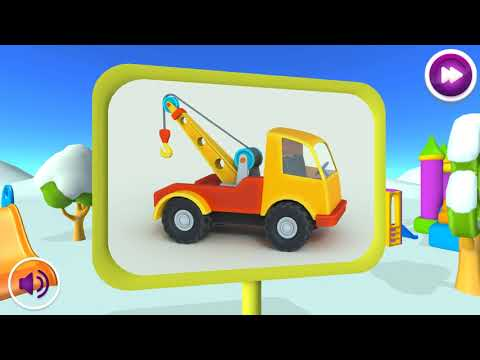 Грузовичок Лева и машинки: умные игрушки для детей thumb