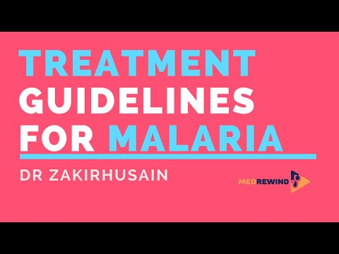 New Guidelines for Treatment of Malaria (India)