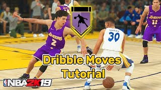 NBA 2K19 Dribble Moves Tutorial - Speed Boost Cheese, Size Up Combos, Momentum Crossover