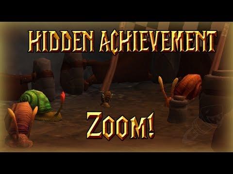 [HIDDEN ACHIEVEMENT] Zoom!│World of Warcraft Legion