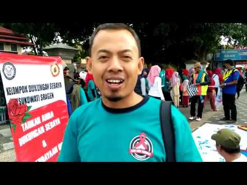 Peringatan Hari AIDS Sedunia 2017 KPA Sragen