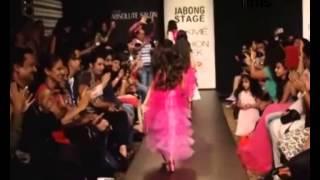 Lakhme Fashion Week 2014 - Winter Fest - Ruhanika Turns Barbie