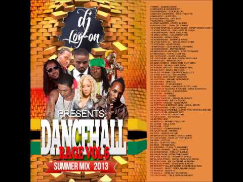 DJ LOGON DANCEHALL SUMMER MIX 2013 (CLEAN)