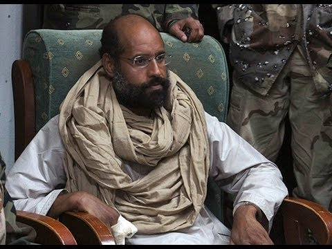 'Gaddafi's son may face execution after show trial in Libya' - lawyer