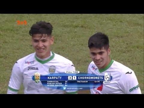 Карпати - Чорноморець - 3:1. Відео-аналіз матчу