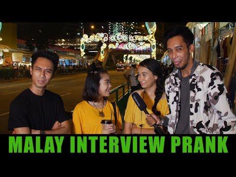 Malay Interview Prank ! (In Singapore) thumbnail