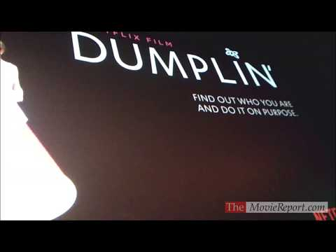 DUMPLIN' Premiere Introduction By Director Anne Fletcher & Writer Kristin Hahn - December 6, 2018