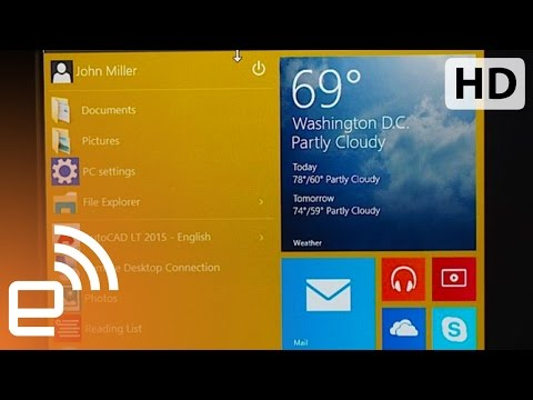Demo: Microsoft's Windows 10 | Engadget