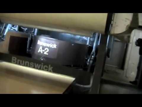 New Brunswick Bowling >> Brunswick A-2 pinsetter - YouTube